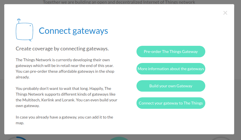 Connect Gateways The Things Network